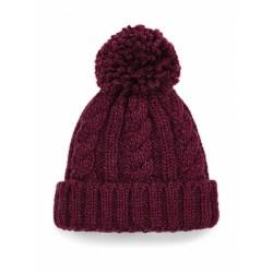 Infant Cable Knit Melange Beanie Nr.195/4