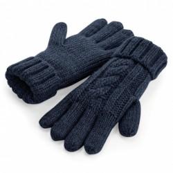 Cable Knit Melange Gloves Nr.222/5