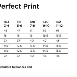 Kids' Perfect Print Tagless Tee Nr. 240/11