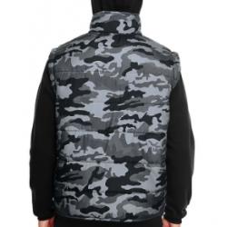 Hooded Fleece Sleeved Puffer Vest  Nr. 259/6