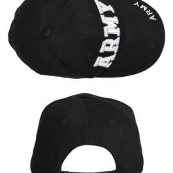 BLACK ′ARMY′ SANDWICH BASEBALL CAP Nr. 267/21