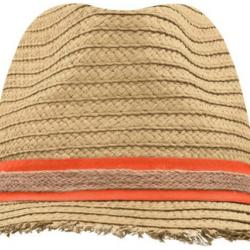 Hat with Fringed Brim Nr. 272/31
