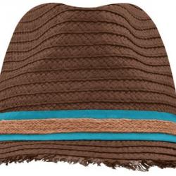 Hat with Fringed Brim Nr. 272/32