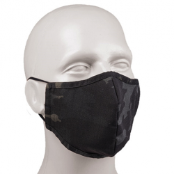 MULTITARN®BLACK MOUTH/NOSE COVER R/S WIDE-SHAPE Nr. 273/20